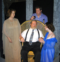 """Cat on a Hot Tin Roof"" at the Richmond Hill Barn Theatre"