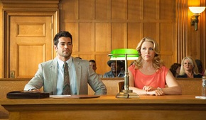 Jesse Metcalfe and Melissa Joan Hart in God's Not Dead 2