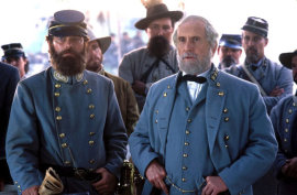 Stephen Lang and Robert Duvall in Gods & Generals