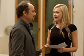 Kevin Pollak and A.J. Michalka in Grace Unplugged