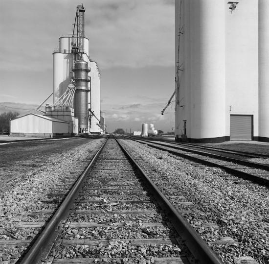 David Plowden, 'Grain Elevators, Manson, Iowa 2004'