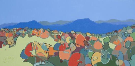 Grant William Thye, 'Autumn in the Blue Ridge'