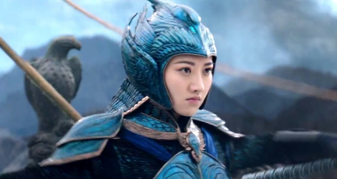 Jing Tian in The Great Wall
