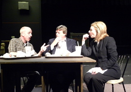 Michael King, Don Hazen, and Connie Bracey in The Guardian