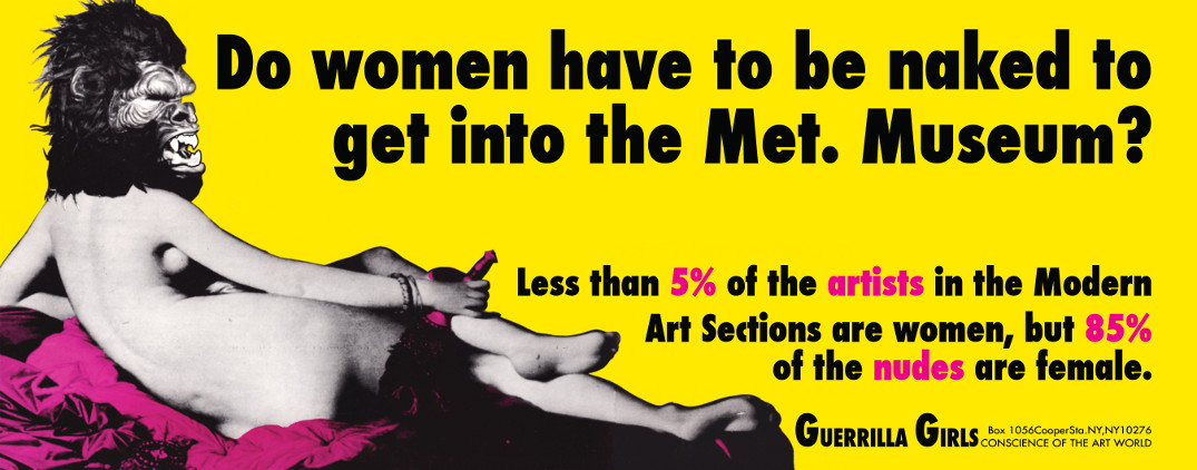 The 1989 Guerrilla Girls poster