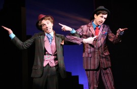 Tim Wessel and Kyle Branzel in Guys & Dolls