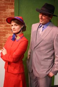 Jenny Winn and Nathan Bates in Guys & Dolls