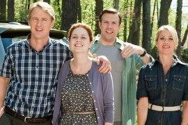 Owen Wilson, Jenna Fischer, Jason Sudeikis, and Christina Applegate in Hall Pass