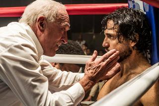 Robert De Niro and Edgar Ramirez in Hands of Stone