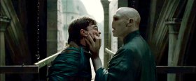 Daniel Radcliffe and Ralph Fiennes in Harry Potter & the Deathly Hallows: Part 2
