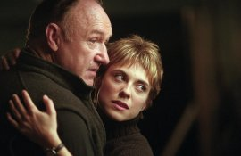 Gene Hackman and Rebecca Pidgeon in Heist