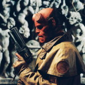 Ron Perlman in Hellboy