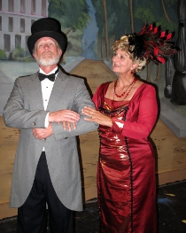 Mike Millar and Charlene Engstrom in Hello, Dolly!