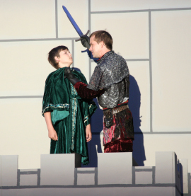 Phillip Tunnicliff and Jacob Lyon in Henry the Sixth: Richard, Duke of York