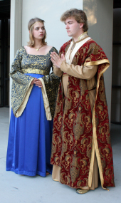 Grace Pheiffer and Andy Curtiss in Henry the Sixth: The Contention