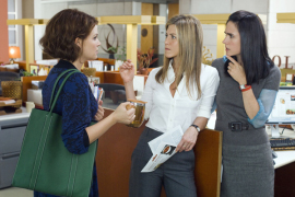 Ginnifer Goodwin, Jennifer Aniston, and Jennifer Connelly in He's Just Not That Into You