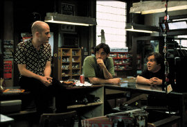 Todd Louiso, John Cusack, and Jack Black in High Fidelity