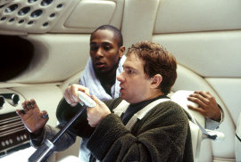 Mos Def and Martin Freeman in The Hitchhiker's Guide to the Galaxy