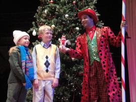 Mackenna Janz, Cole Bizarri, and Joseph J. Baez in Holly Jolly Christmas
