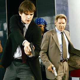 Josh Hartnett and Harrison Ford in Hollywood Homicide