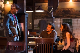 Jason Statham, James Franco, and Winona Ryder in Homefront