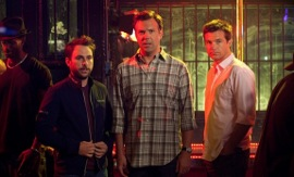 Charlie Day, Jason Sudeikis, and Jason Bateman in Horrible Bosses