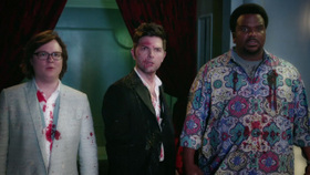 Clark Duke, Rob Corddry, and Craig Robinson in Hot Tub Time Machine 2