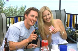 Matthew McConaughey and Kate Hudson in How to Lose a Guy in 10 Days