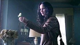 Jennifer Lawrence in The Hunger Games: Mockingjay, Part I