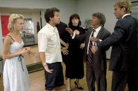 Naomi Watts, Mark Wahlberg, Lily Tomlin, Dustin Hoffman, and Jude Law in I Heart Huckabees