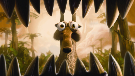 Scrat in Ice Age: Dawn of the Dinosaurs