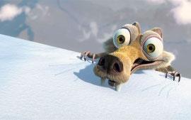 Scrat in Ice Age