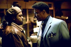 Ice Cube and Keith David in Barbershop