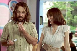 Paul Rudd and Elizabeth Banks in Our Idiot Brother