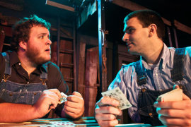 Matt Mercer and Steve Quartell in Of Mice and Men