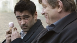Colin Farrell and Brendan Gleeson in In Bruges