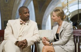 Denzel Washington and Jodie Foster in Inside Man