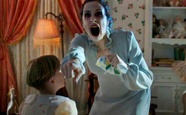 Tyler Griffin and Danielle Bisutti in Insidious: Chapter 2