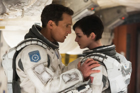 Matthew McConaughey and Anne Hathaway in Interstellar