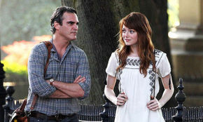 Joaquin Phoenix and Emma Stone in Irrational Man