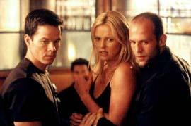 Mark Wahlberg, Charlize Theron, and Jason Statham in The Italian Job