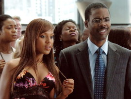Kerry Washington and Chris Rock in I Think I Love My Wife