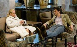 Maria Bello and Hugh Dancy in The Jane Austen Book Club