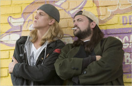 Jason Mewes and Kevin Smith in Jay & Silent Bob Strike Back
