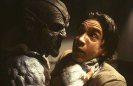 Jonathan Breck and Justin Long in Jeepers Creepers