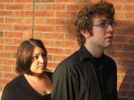 Sarah Ulloa and Ryan Westwood in john and jen
