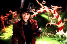 Johnny Depp in Charlie & the Chocolate Factory