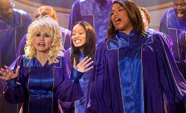 Dolly Parton, Keke Palmer, and Queen Latifah in Joyful Noiuse