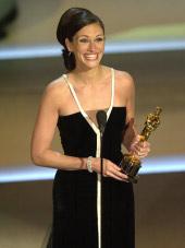 Best Actress Julia Roberts, for Erin Brockovich