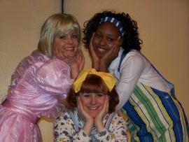 Molly Laurel, Sunshine Ramsey, and Antoinette Holman in Junie B. Jones & a Little Monkey Business